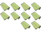 Pak 10 x ProSlide Wafelmopdoek, groen