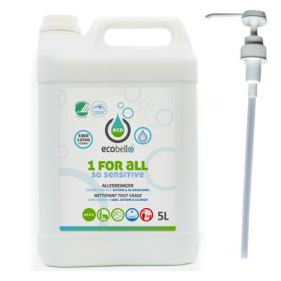 1 FOR ALL - SO SENSITIVE 5L met doseerpomp 2,5 ml